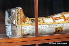 Coffin of a Priest (konde) Tags: ancient priest coffin vignette hieroglyphs thebes deities deirelbahri anthropoid 25thdynasty thirdintermediateperiod mummycoffin