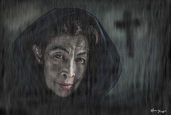 kindness (Bruno Frerejean (Bruno Mallorca)) Tags: portrait woman mujer retrato femme thegimp regards kindliness