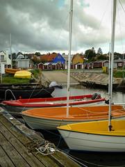 . (S_Artur_M) Tags: travel colour lumix boot boat skne colorful sweden schweden panasonic sverige bunt tz10
