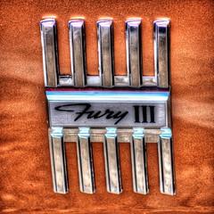 Fury III (Three D Photography) Tags: classic cars nikon iii plymouth fury d7000