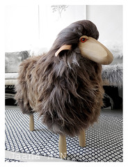 Sheep stool by Hans-Peter Krafft (Jaana H-N) Tags: home fur design oak sheep furniture decoration stool decor interiordesign meier thorstenvanelten hanspeterkrafft