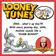 Asshola Cartoon 03 Bugs Bunny (KnixTix) Tags: ny idiot dumb stupid carrot troll msg madisonsquaregarden jackass roadrunner warnerbros warnerbrothers bugsbunny knicks dailynews looneytunes whatsupdoc wileecoyote nyk jamesdolan asshead frankasshola frankisola knixtix