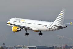 EC-KHN   BCN (airlines470) Tags: eckhn a320 msn 3203 vueling airlines bcn airport a320200 a320216