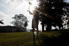 Flare (viniciuslevy) Tags: brazil portrait sun sunshine brasil sunrise canon mask sopaulo sp canon70d