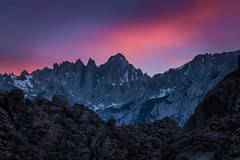 The Peaks In Pastel (Eric Gail: AdventuresInFineArtPhotography) Tags: ericgail 21studios canon canon70d 70d explore interesting interestingness photoshop lightroom nik software landscape nature california photo photographer ca cs6 picture mt whitney sunrise