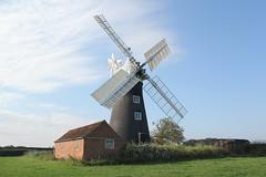 SUBSCRIPTION MILL, NORTH LEVERTON, NOTTINGHAMSHIRE. (Andy bradders) Tags: northleverton nottinghamshire windmill 4sails grain mill millstones wind windpower miller uk canon eos550d