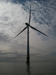Wind & Water (joe_goodings) Tags: water wind offshore samsung turbine flickrandroidapp:filter=none