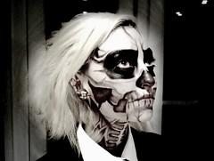 Halloween 2011 makeup (quiet-your-riot) Tags: art halloween me face myself death scary mask makeup mak