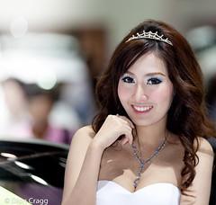 Tiara (Dion Cragg) Tags: portrait tiara beauty smile asian thailand lashes eyelashes bangkok models bling cleavage thaigirls asiangirls asianmodels promogirls asianbeauties thaimodels bangkokinternationalmotorshow asianportraits promogals bangkokautoshow bangkokautoshow2012