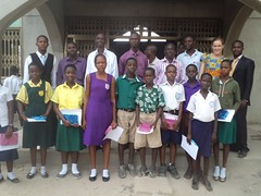 "10 pupils who were awarded scholarship for being successful in the reading essay competition • <a style=""font-size:0.8em;"" href=""http://www.flickr.com/photos/48668870@N02/6947274352/"" target=""_blank"">View on Flickr</a>"