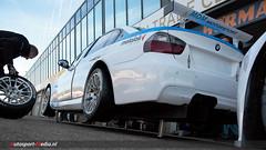 BMW E90 320D (autosport-media) Tags: park sedan canon media wheels changing bmw 1750 change pitstop tamron circuit 70200 zandvoort tyres tyre autosport pitlane e90 500d 320d e92 dnrt pitstraat