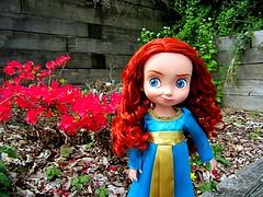 Flower Girl (pumpkindolls) Tags: toddler doll disney merida pixar brave disneystore
