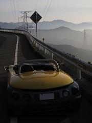 (macco) Tags: auto car sport yellow spider automobile renault     renaultsportspider      sautevent    versautevent