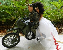 tag game: dolls on wheels (Laila X) Tags: guy rock cafe doll dolls hard barbie fake joe gi