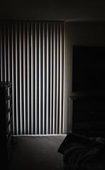 Quiet Spaces (raebearlawl) Tags: lighting light blackandwhite dark photography bedroom quiet room conceptual spaces greyscale