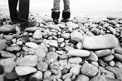 nicetomeetyou (tapeandfilm) Tags: bw film beach losangeles minolta minoltax700 malibu ilfordxp2400super minoltamdrokkorx24mmf28 rokkor24mmf28