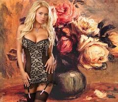 Flowers (cuto amidei) Tags: woman photoshop photo women memories autofocus wow1 wow2 wow3 flickrestrellas ringexcellence