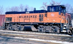 Milwaukee MP15AC (pennsy5929) Tags: railroads emd milwaukeeroad mp15ac