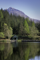 Glen Canada (mcrossco) Tags: trees mountain reflection landscape scotland scenery scenic scottish glencoe lochan