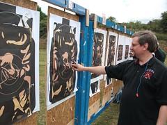 "Chris Lewis Trying to shoot Multi-Target :-) • <a style=""font-size:0.8em;"" href=""http://www.flickr.com/photos/8971233@N06/7168771569/"" target=""_blank"">View on Flickr</a>"