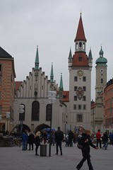 Altes Rathaus. Marienplatz. Munich (Bernard Mowbray) Tags: munich2012