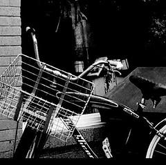 (*bomben*) Tags: street city urban bw toronto bike nikon tokina 28 d90 1116mm