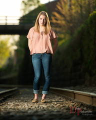 CV 2013 (David Pinkerton) Tags: portrait female traintracks plm seniorportrait strobist singhrayvarind nikkor70200mmf28vrii einstein640 vagabondmini
