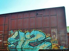 42 (nunya...nunyabusiness) Tags: art train graffiti paint graf tracks spraypaint boxcar 42 freight sry zew