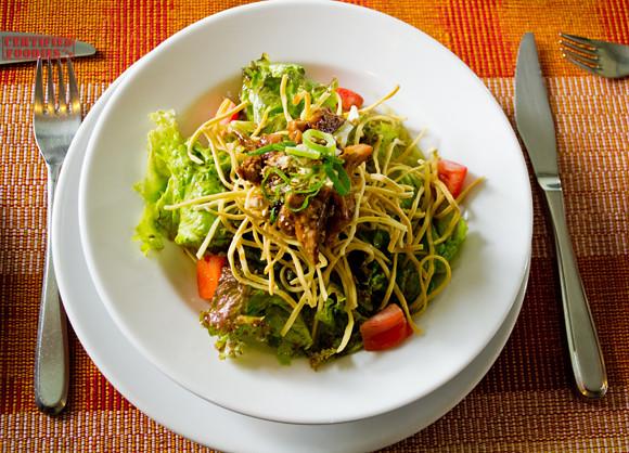 Chicken Oriental Salad at Mario's Restaurant