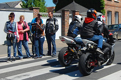 Bikes in France (thefooleryoftom) Tags: trip france monster motorbike rouen bmw yamaha virago ducati gs 535 1150 m750