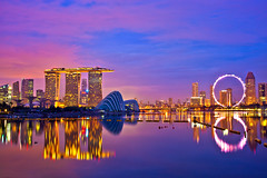 Singapore Marina Bay (Kenny Teo (zoompict)) Tags: marina landscape bay yahoo google scenery singapore photographer reservoir singaporemarinabay kennyteo