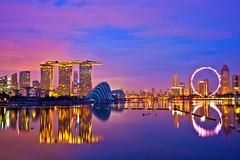 Singapore Marina Bay (Kenny Teo (zoompict)) Tags: marina landscape bay yahoo google scenery singapore photographer reservoir singaporemarinabay kennyteo
