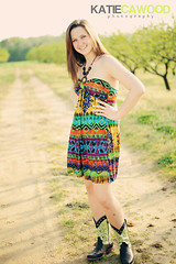 Orchard Session (Katie Cawood) Tags: trees senior girl dress boots path naturallight orchard teen hippie cowgirl brunette dirtpath