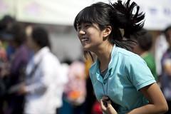 Jumping girl (CyprienR) Tags: festival korea seoul 2012 coreenne