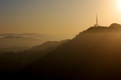 (Daniel Pouliot) Tags: california la losangeles hollywood hollywoodsign ringoffire bigparadela2012 partialeclipse2012