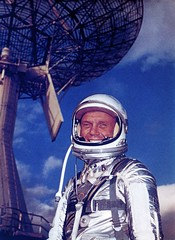 John Glenn, Mercury astronaut, February 13,1962 (Mr Dan Beaumont) Tags: nasa capecanaveral 1962 johnglenn capekennedy gagarin spaceage mercurycapsule alanbshepard earthorbit mercuryastronaut therightstuffmovie mercurycapsulemercurtspaceprogram manintospacemaninspace maninorbit firstmaninorbit