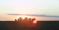 Stonehenge Sunset Flare (BillikenHawkeye) Tags: sunset england delete5 delete2 deleted9 delete6 delete7 delete3 delete delete4 deleted10 lensflare stonehenge deleted1