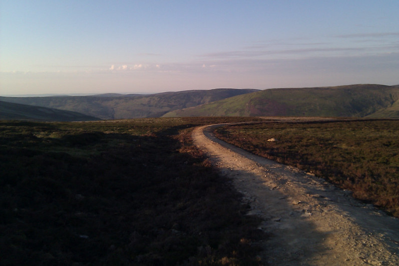 The track from Cairn of Meadows