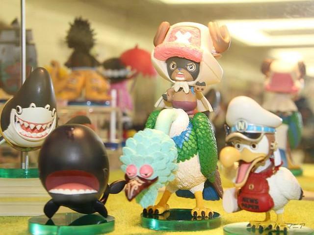 One Piece 海賊王 WCF系列 的動物系列 展覽照片