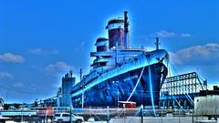 SS United States ~ Philadelphia PA (NJ CC Philly Guy) Tags: philadelphia panasonic oceanliner philadelphiapa photomatixpro tonemapping ssunitedstates njccphillyguy fbi039 dmczs20 dmczs20k