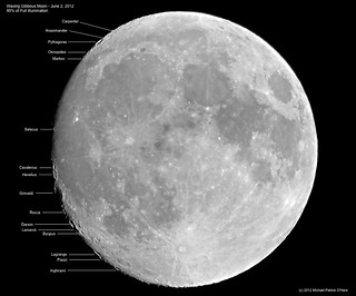 Waxing Gibbous Moon - June 2, 2012