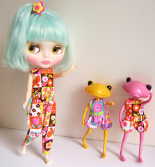 (twinkle_moon_bunny) Tags: pink yellow wonder rice frog sally blythe miss megipupu wonderfrogs