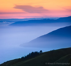 Top of the World (Silent G Photography) Tags: california ca sunset fog landscape nikon bigsur filter lee nd centralcoast 2012 marinelayer reallyrightstuff rrs neutraldensity nikkor70200mmf28 bh55lr nikond7000 markgvazdinskas silentgphotography reallyrightstuffllc tvc33 pg02llr