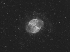 M27 The Dumbbell Nebula in H-Alpha .....continued (Terry Hancock www.downunderobservatory.com) Tags: camera sky color apple monochrome wheel night stars photography mono pier backyard fotografie photos space ngc shed science images astro m observatory telescope filter nebula astronomy imaging planetary messier ccd universe 27 cosmos technologies core pn constellation paramount luminance the teleskop astronomie dumbbell byo deepsky vulpecula 6853 starlightxpress flattener astrotech Astrometrydotnet:status=solved qhy5 Astrometrydotnet:version=14400 mks4000 qhy9m gt110s 10f8ritcheychrtienastrographat2field Astrometrydotnet:id=alpha20120695997068