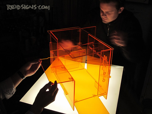 Barkitecture 2012 - Luxury Doghouse - 1/3rd Scale Acrylic Model