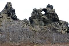 Dimmuborgir rock formations