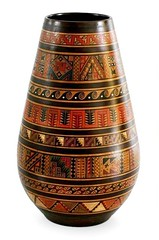 1907. Geometric Inca design vase (Alpaca wool and fur apparel) Tags: geometric inca design vase