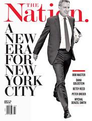 The Nation. A New Era For New York City. January 20, 2014 (rbest90) Tags: nyc newyorkcity magazine design mayor politics era editorial thenation billdeblasio