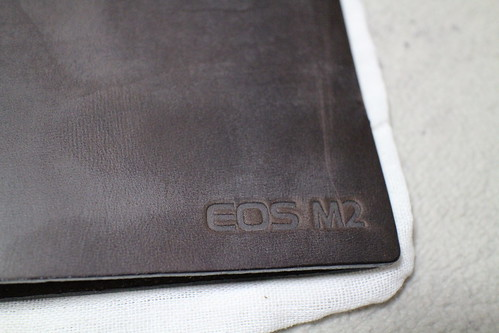 EOS M2 刻印 トラベラーズノート