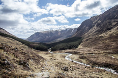 Way Home (TheWildFireOne) Tags: sky snow mountains river scotland highlands doll angus path glen hills munro 500px